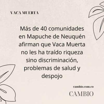 Mapuche de Neuquén
