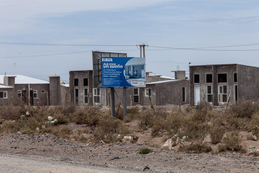 Casas Vacías en Vaca Muerta