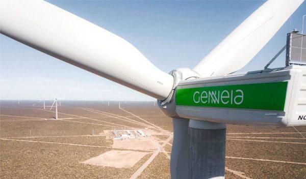 imagen de energía eólica en Argentina.