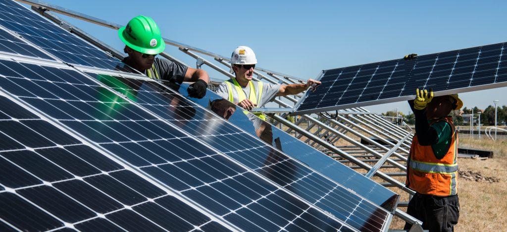imagen de paneles solares