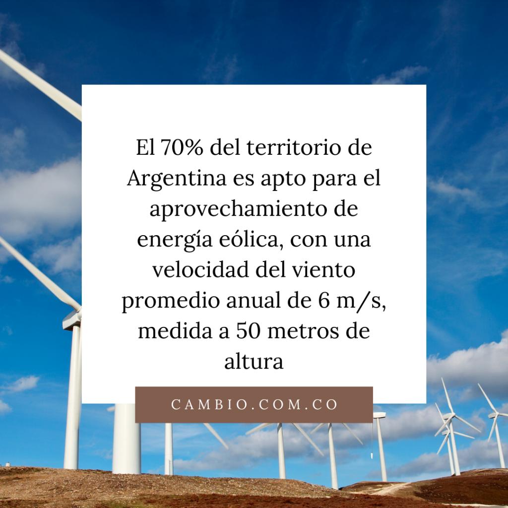 Aprovechamiento de energía eólica