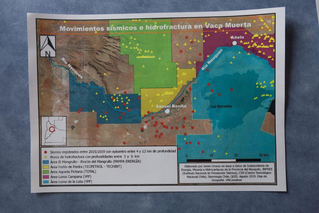 mapa de vaca muerta